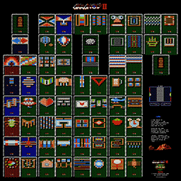 Arkanoid II Revenge of DOH Map Poster Thumb