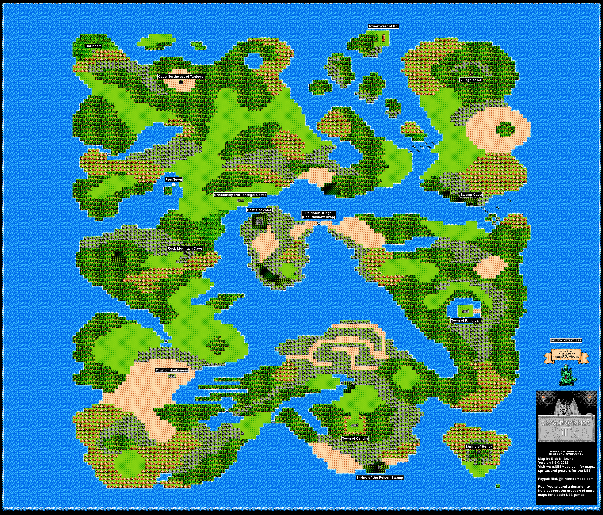 DragonWarrior3Overworld2LMap Dragon Warrior Map on just cause 2 map, the legend of zelda, double dragon, dragon quest monsters: joker 2, dragon quest viii: journey of the cursed king, dragon quest, crash bandicoot 2 map, dragon quest vi: realms of revelation, super mario brothers 2 map, ducktales 2 map, breath of fire 2 map, dragon quest v: hand of the heavenly bride, dark souls 2 map, jurassic park 2 map, dragon mountain map, crusader kings 2 map, dragon warrior iii, asia after world war 2 map, dragon quest world map, call of duty 2 map, dragon quest 4 map, indiana jones 2 map, forza horizon 2 map, chrono cross, adventure island 2 map, dragon tree map, dragon quest ix: sentinels of the starry skies, castlevania 2 map, wario land 2 map, infinity blade 2 map, dragon warrior monsters,