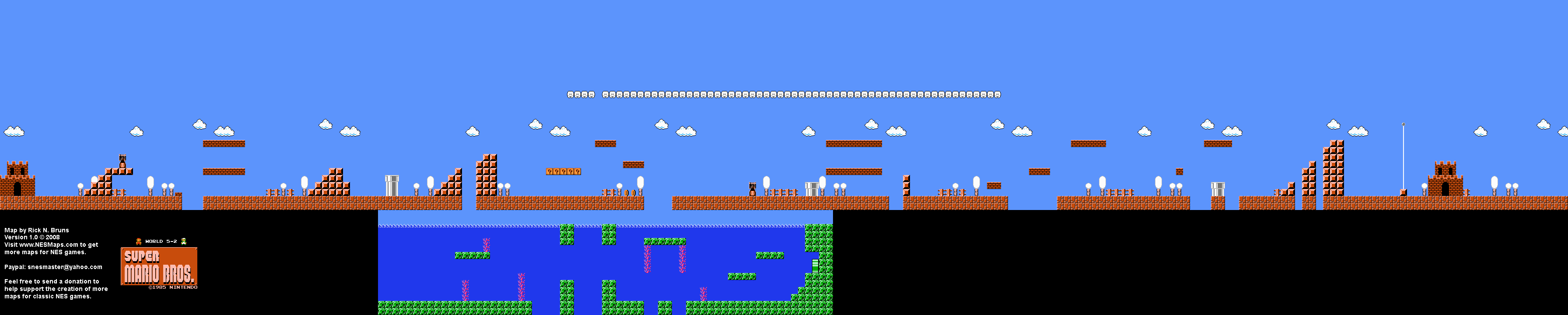 Mario Brothers Background Super Mario Brothers World