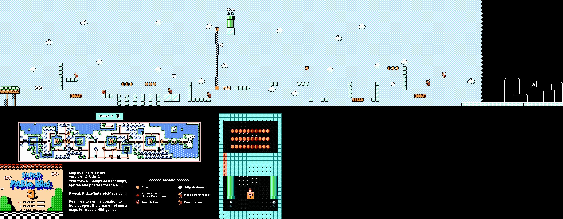 Скачать Игру Super Mario Bros 3