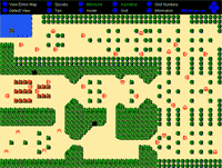 The Legend of Zelda Map Selection Labeled Maps